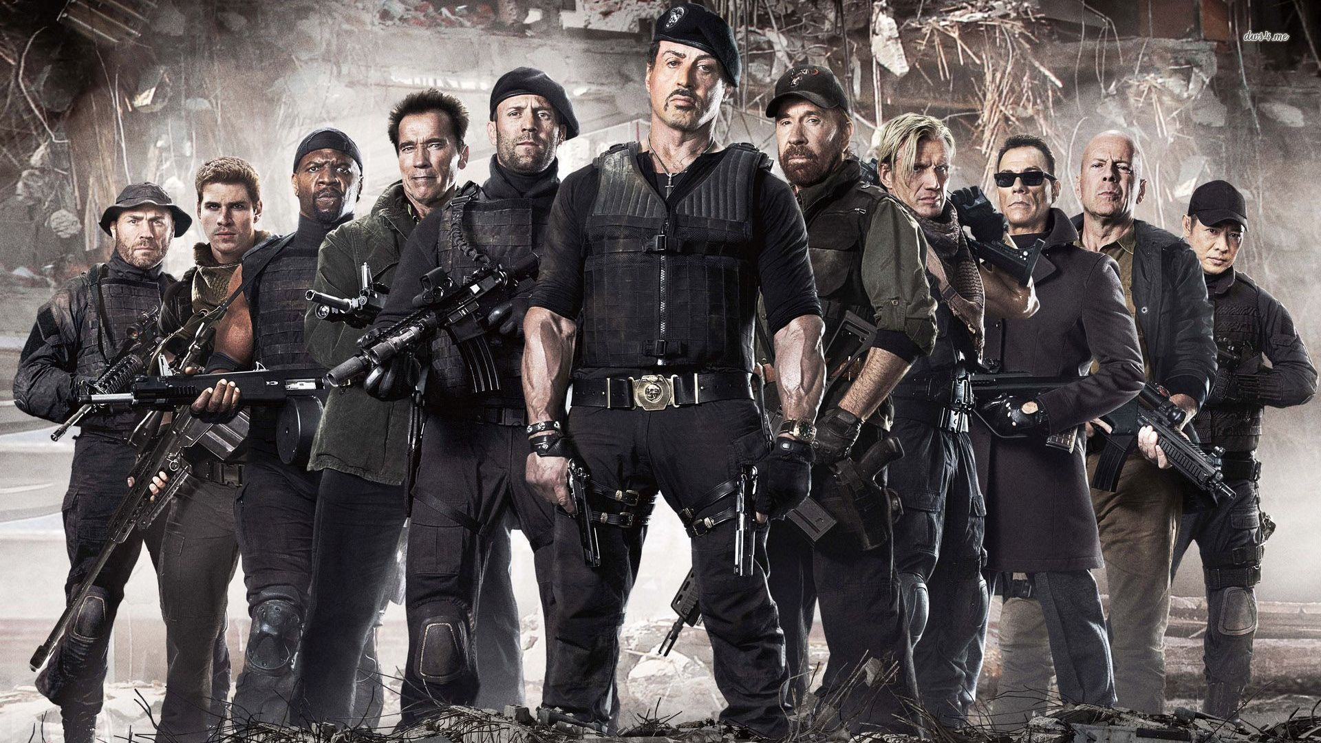 agenti cinema group | expendables 2